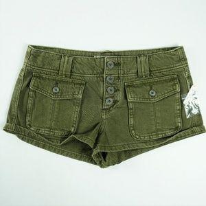 NWOT Free People Womens Jean Denim Shorts Size 26